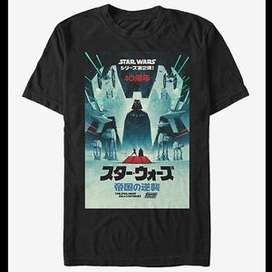 STAR WARS THE EMPIRE STRIKES BACK 40TH TEE
